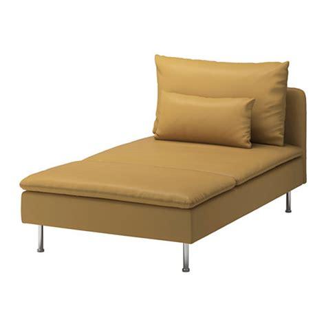 ikea soderhamn chaise slipcover cover samsta dark yellow