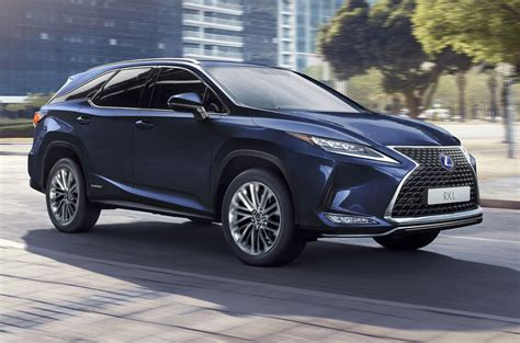 lexus rx updated    styling  chassis tweaks