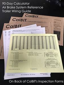 Calbit Store Bit Inspection Forms And Books And Supplies