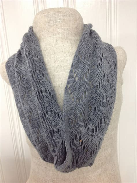 knitting patterns galore stormy lace cowl
