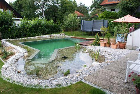 Schwimmteiche Mit Treppen  Mielke's Projektarchiv