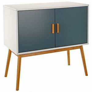 Sideboard Retro Look : retro style wooden storage sideboard cabinet living room furniture with 2 doors ebay ~ Markanthonyermac.com Haus und Dekorationen
