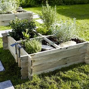 Carre De Jardin Potager : castorama 30 nouveaut s pour la terrasse et le jardin ~ Premium-room.com Idées de Décoration