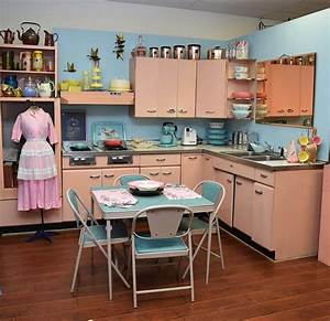 Amy, Saves, A, 1957, Harrison, Pink, Steel, Kitchen, -, Now, On, Display, In, Her, Vintage, Shop