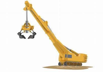 Crane Construction Clipart Cranes Transparent Arm Tower
