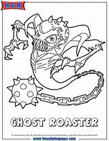 Coloring Skylanders Pages Ghost Teamwork Roaster Colouring Drawing Undead Adventure Spyros Check Skylander Ghosts Similar Cute Fancy These Popular Meta sketch template