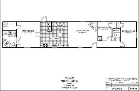 16x80 Single Wides Mobile Home Floor Plans by 16x80 Mobile Home Floor Plans Cavareno Home Improvment