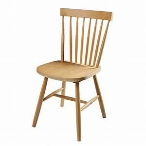 Chaise Vintage Maison Du Monde : chaise vintage en h v a et ch ne fjord maisons du monde ~ Melissatoandfro.com Idées de Décoration