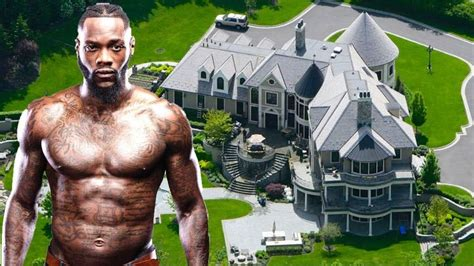 latest deontay wilder rich life wifenet worthkids