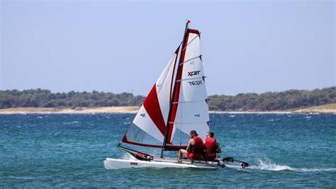 Xcat Sailboat by Xcat Sail Xcat Multi Sport Catamaran Car Topable For