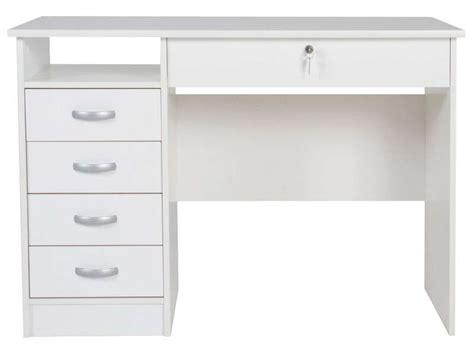bureau conforama blanc bureau 5 tiroirs 1 niche 2 vente de bureau