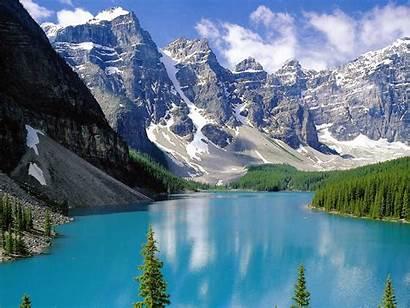 Lake Peyto Canada Lakes Famous Alberta Canadian