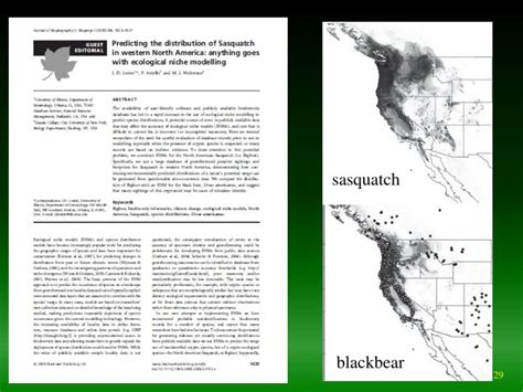 Ppt  Ecological Niche And Ecological Niche Modeling