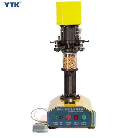 ytk tdfj  electric table small food canning machine tin  sealing machine