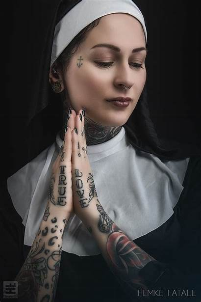 Tattoo 500px Wallpapers Nose Nuns Rings Nun