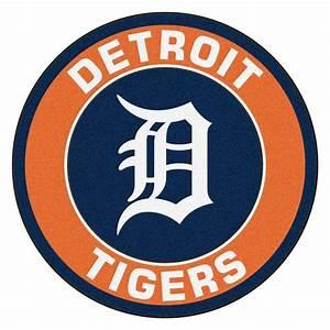 FANMATS MLB Detroit Tigers Orange 2 ft 3 in x 2 ft 3 in