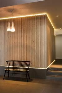 Wandverkleidung Aus Holz : wandverkleidung aus holz und indirektes licht licht pinterest indirektes licht ~ Sanjose-hotels-ca.com Haus und Dekorationen