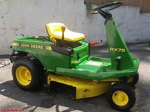 Tractordata Com John Deere Rx75 Tractor Photos Information