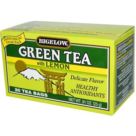 Bigelow, Green Tea with Lemon, 20 Tea Bags, 0.91 oz (25 g ...