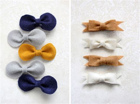 Felt Hair Bow Tutorial