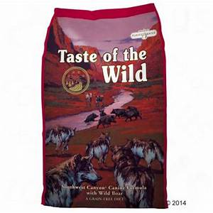 Taste of the Wild Southwest Canyon Great deals at zooplus!