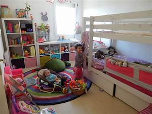 Chambre Enfant 2 Ans : idee decoration chambre fille 3 ans visuel 8 ~ Teatrodelosmanantiales.com Idées de Décoration