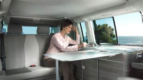 dimensions volkswagen  california  coffre  interieur
