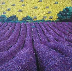 French Lavender Field Painting by Kendal Greer