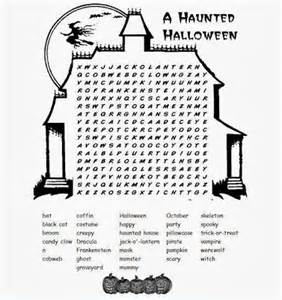 Difficult Halloween Word Searches