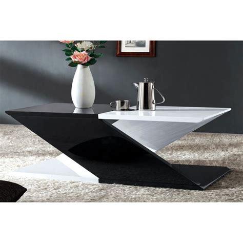 table basse noir et blanc table basse gigogne maisonjoffrois