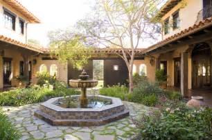 tuscan style bathroom ideas santa ynez ranch courtyard mediterranean landscape
