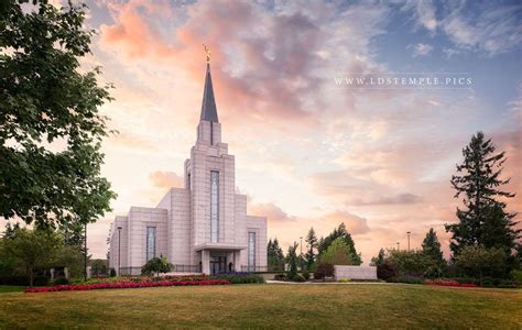 vancouver british columbia lds temple pictures