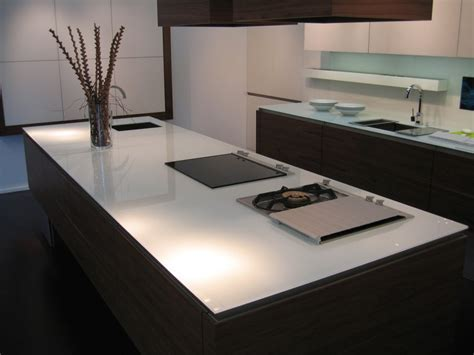 Worktops   Glass   Concept Kitchens