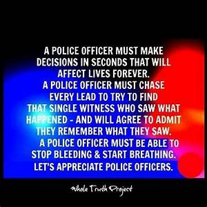 Police Officers... Police Officer Quotes