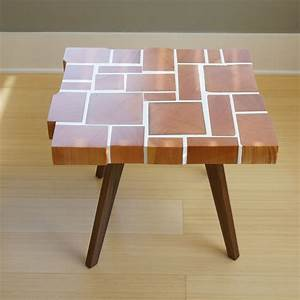 Block, Side, Table, Large