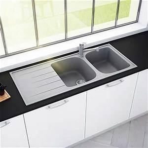 Evier Cuisine Granit : evier de cuisine espace aubade ~ Premium-room.com Idées de Décoration