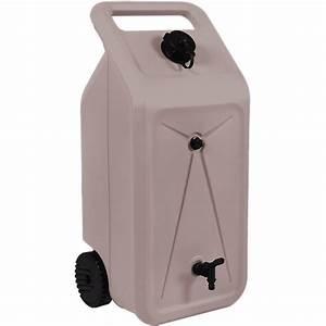 Reservoir D Eau : le r servoir d 39 eau nomade 2 roues 55 litres par jardin et saisons ~ Dallasstarsshop.com Idées de Décoration