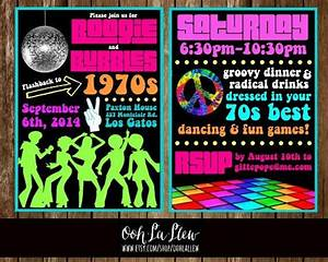Party invitations amusing 70s party invitations ideas high for 70 s wedding invitations