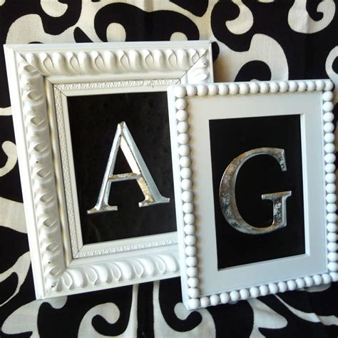 easy framed monogram craft organic