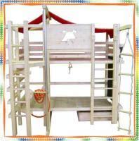 Hochbett Kinderbett '' Der Kleine Feuerwehrmann '' Hbb