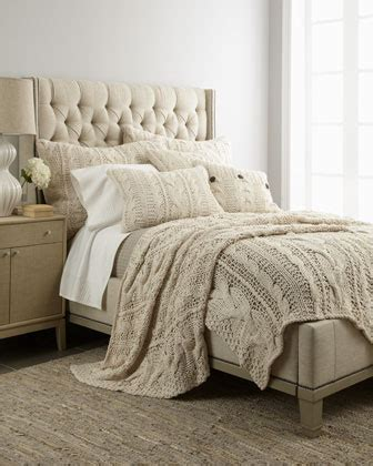 Cable Knit Coverlet free shipping