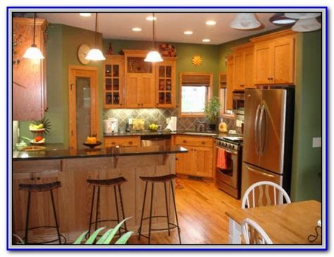 paint colors that go with orange tile painting home