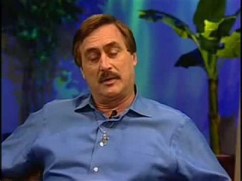 mypillow talk show mike lindell  pillow inventor