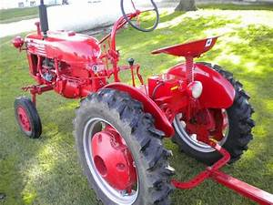 Early Model Farmall Cub Tractor For Sale
