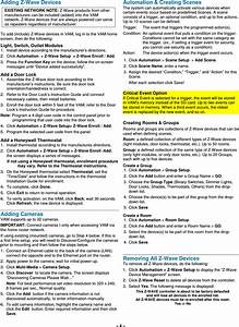 Honeywell 8dlvam Vista Automation Module User Manual 800