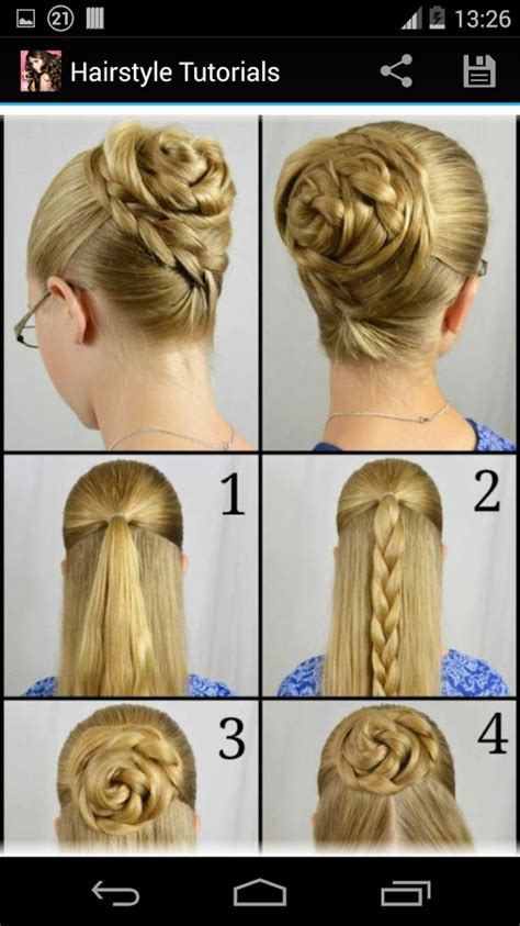 hairstyles step  step android apps  google play