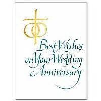 christian wedding anniversary wishes blessings on your wedding anniversary wedding anniversary card