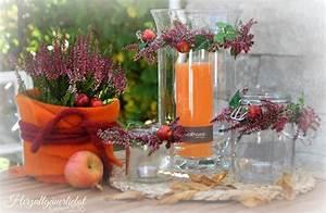 Herbst Dekoration Tisch : herzallg uerliebst herbst deko f r zuhause diy creadienstag ~ Frokenaadalensverden.com Haus und Dekorationen