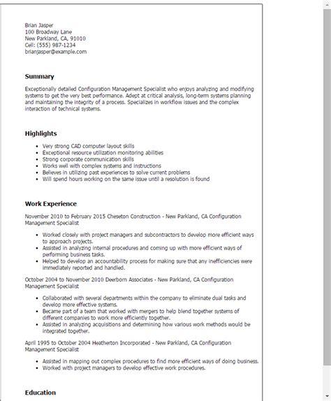 logistics management specialist resume best resume sle