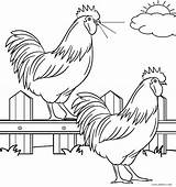Coloring Farm Pages Animal Animals Printable Cool2bkids Sheets Christmas Print Preschool Roosters Scribblefun sketch template